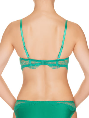 Emerald Song Lace Push-Up Bra