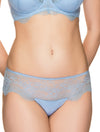Lauma, Blue Lace Shorts Panties, On Model Front, 69H70
