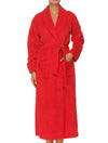 Lauma, Red Long Robe, On Model Front, 72D99