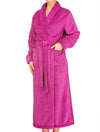 Lauma, Violet Long Robe, On Model Front, 72D99