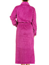 Lauma, Violet Long Robe, On Model Back, 72D99