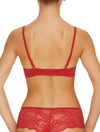 Lauma, Red Push Up Bra, On Model Back, 72F31
