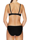Lauma, Black Push Up Bra, On Model Back, 72F31