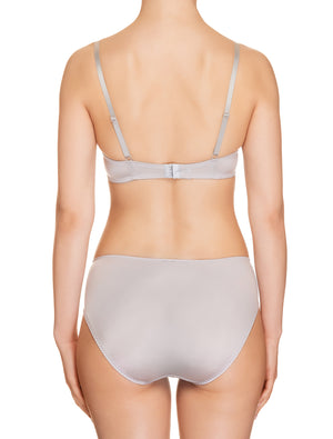 Lauma, Grey Mid Waist Panties, On Model Back, 73H50