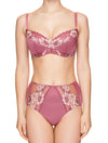 Lauma, Pink Non-padded Bra, On Model Front, 73H20