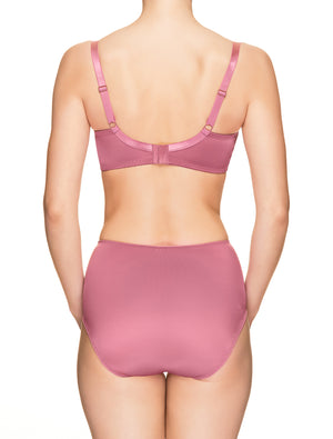 Lauma, Pink Non-padded Bra, On Model Back, 73H20
