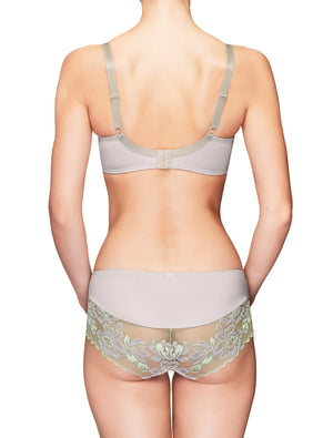 Lauma, Gray Mid Waist Panties, On Model Back, 73H52
