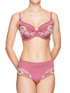 Lauma, Pink Half Padded Bra, On Model Front, 73H40
