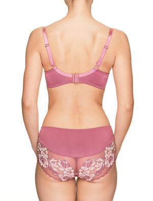 Lauma, Pink Half Padded Bra, On Model Back, 73H40