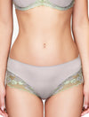 Lauma, Gray Mid Waist Panties, On Model Front, 73H52