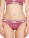 Lauma, Pink String Tanga Panties, On Model Front, 73H62