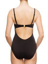 Lauma, Black Push Up Swimsuit, On Model Back, 74G82