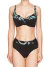 Lauma, Black Swimwear Bikini Bottom, On Model Front, 75H51