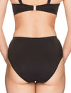 Lauma, Black Swimwear Bikini Bottom, On Model Back, 75H51