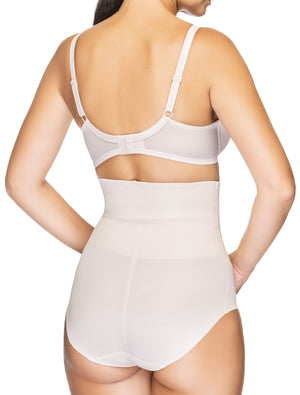 Lauma, Nude High Waist Shaping Briefs, On Model Back, 91B55