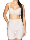Lauma, Nude High Waist Slimming Shorts, On Model Front, 91B56