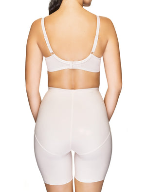 Lauma, Nude High Waist Slimming Shorts, On Model Back, 91B56
