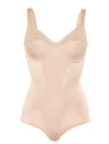 Lauma, Nude Shapewear Bodysuit, On Model Front, 79700