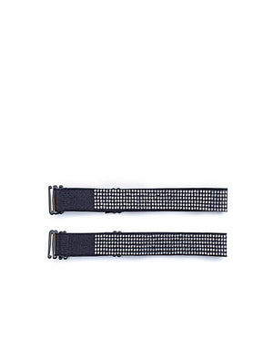 Adjustable Decorative Shoulder Straps With Rhinestones