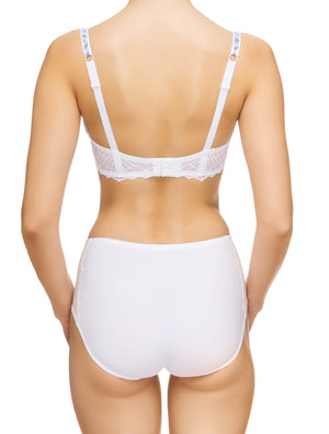 Lauma, White High Waist Panties, On Model Back, 82G51