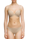 Lauma, Nude Push Up Bikini Top, On Model Front, 86G35