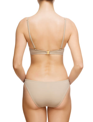 Lauma, Nude Push Up Bikini Top, On Model Back, 86G35