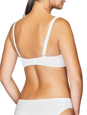 Lauma, Ivory Moulded Multiway T-Shirt Push Up Bra, On Model Back, 90635