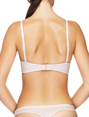 Lauma, Nude Moulded Multiway T-Shirt Push Up Bra, On Model Back, 90635