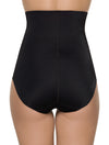 Lauma, Black High Waist Shaping Briefs, On Model Back, 91B55