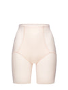 Lauma, Nude High Waist Shapewear Shorts, On Model Front, 93B55
