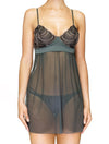 Lauma, Grey Tulle Night Dress, On Model Front, 95H90
