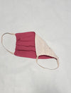 Lauma, Dark Pink Cotton Face Mask