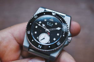 ECA Watch Co. Calypso Denise Date Diver