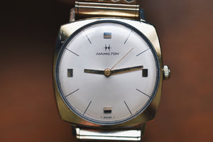 1966 Hamilton Boatswain III 10k Rolled Gold Plated Case!