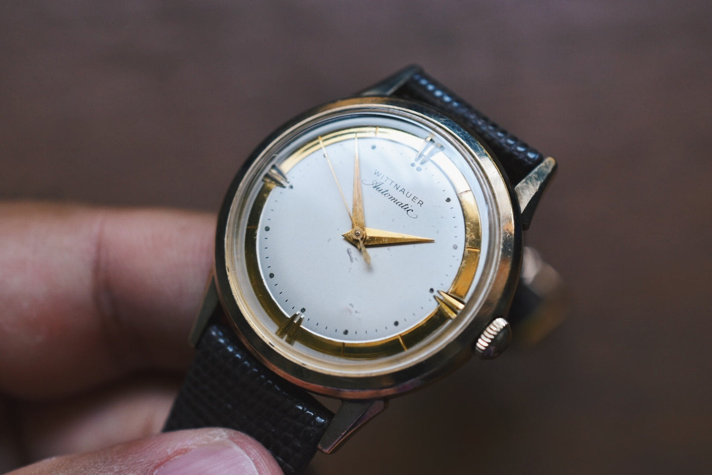Wittnauer Automatic 10k Yellow Gold Filled Dress Watch