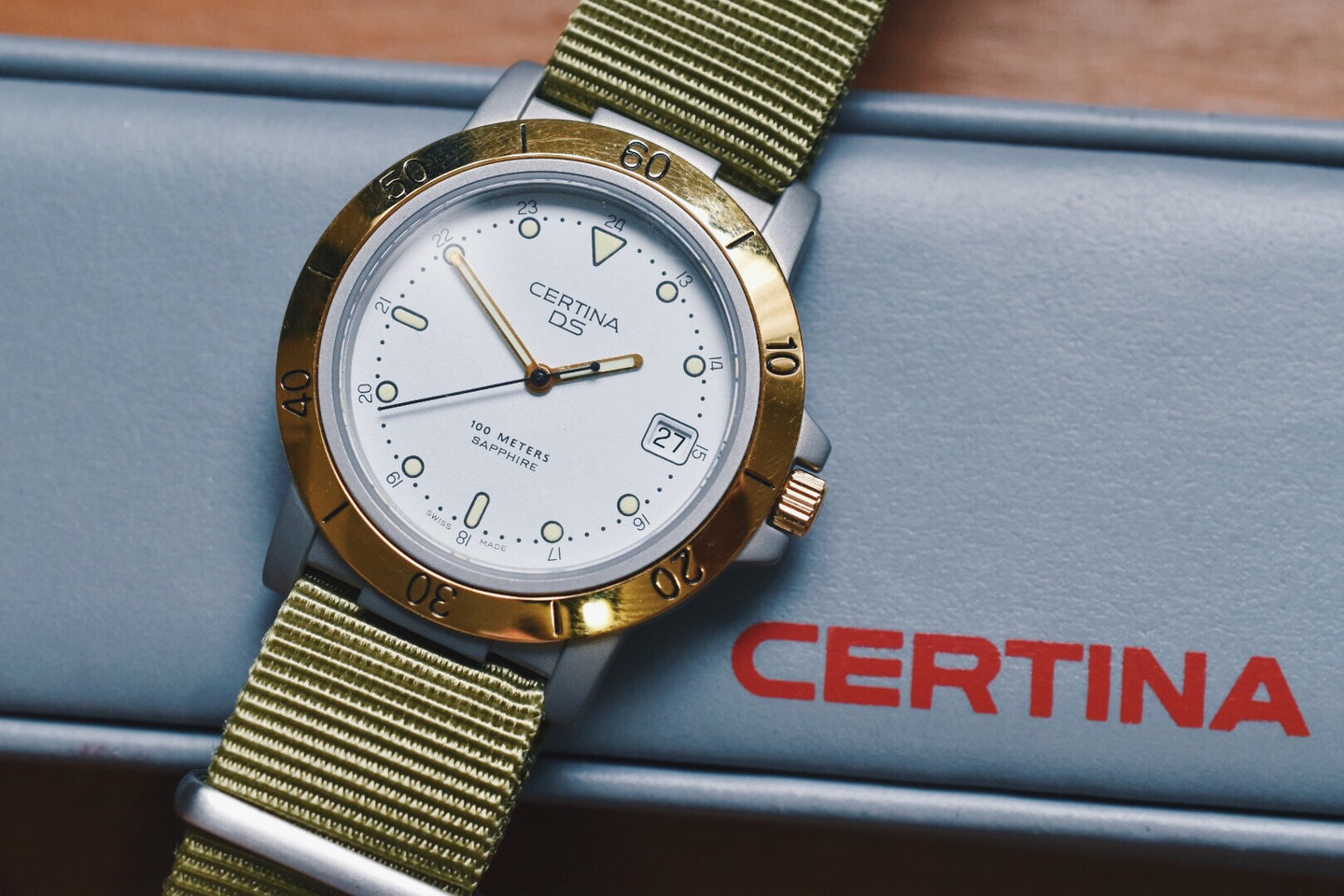 Certina DS Two-Tone (w/ Box and Papers)