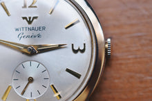 Load image into Gallery viewer, Wittnauer Geneve 10k Rolled Gold Plated Small Seconds