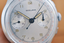 Load image into Gallery viewer, 1940's Seeland Swiss Chronograph