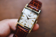 Load image into Gallery viewer, *VERY RARE* 1954 Longines Tank 10k Yellow Gold Filled