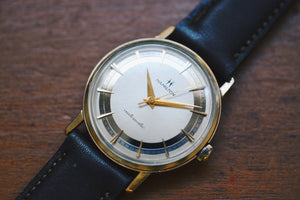 *VERY RARE* 1964 Hamilton Accumatic Gold Ring Dress Watch  (10k Gold RGP) Only Made For ONE Year!