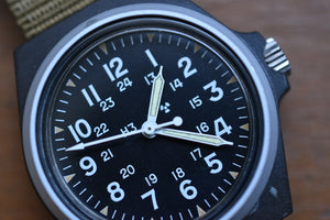 Stocker and Yale Sandy 184 Tritium Military Watch