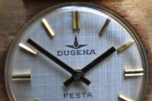Load image into Gallery viewer, NOS 1960's Linen Dial Dugena Festa  *RARE*