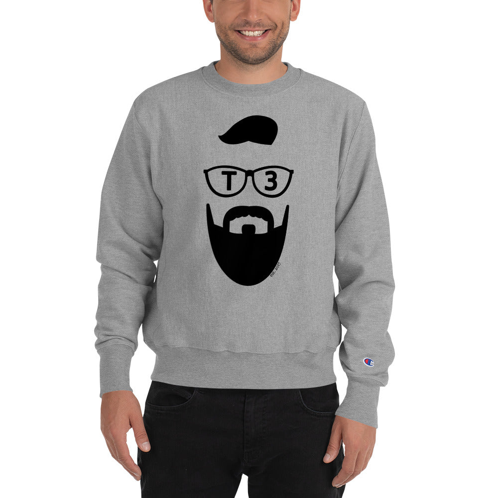 Fear The Beard T3 Champion Sweatshirt