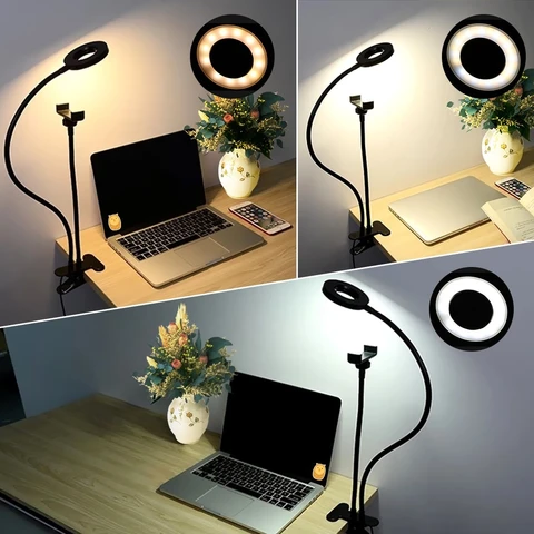 Indo Studio LED Light with Cell Phone Holder