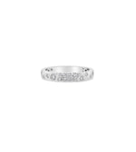 Diamond Celestial Petite Band - 14K White Gold / 5 - Olive & Chain Fine Jewelry