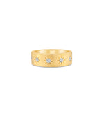 Diamond Star Set Band - 14K  - Olive & Chain Fine Jewelry
