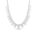 Diamond Queen Necklace - 14K White Gold - Olive & Chain Fine Jewelry