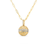 Diamond Celestial Ball Necklace
