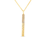 Diamond Celestial Bar Necklace