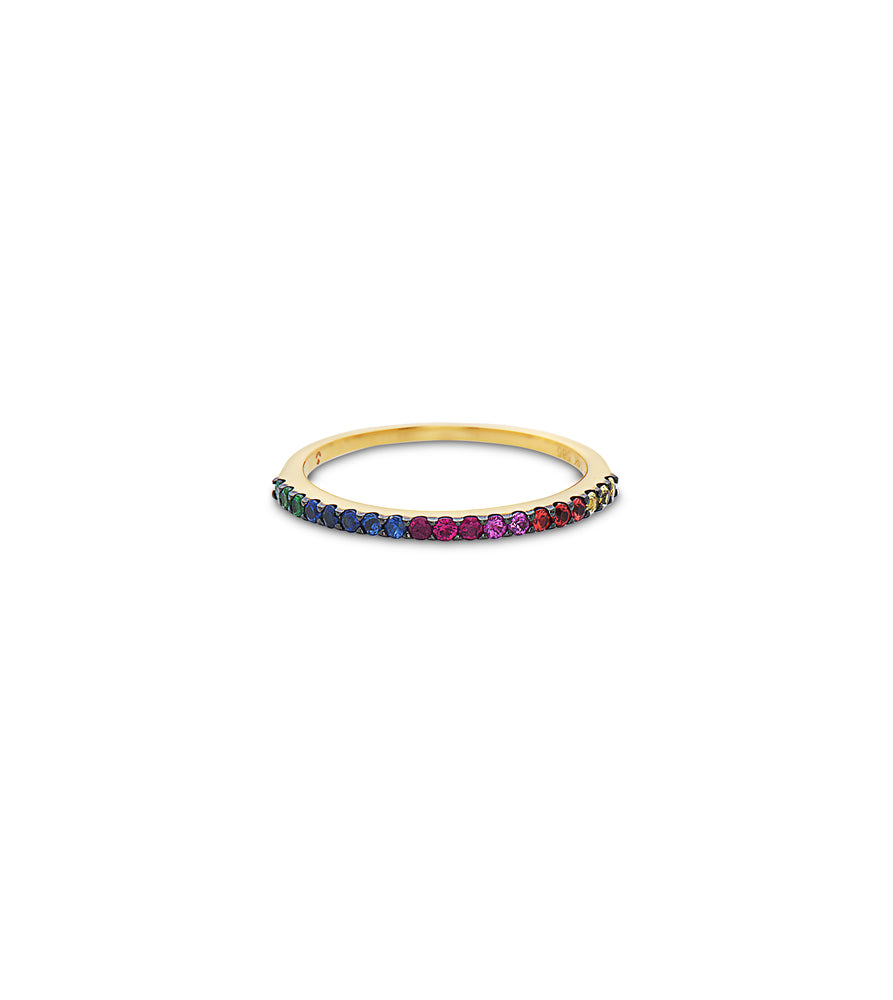 Rainbow Stackable Band